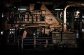 Old coal mill — Stock Photo