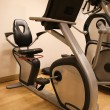 Room with gym equipment in the sport club, sport club gym , Health and recreation room — Stock Photo #66163428