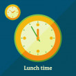 Постер, плакат: Lunch time