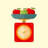 Balanças de cozinha — Vetorial Stock