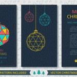 Merry Christmas card — Stock Vector #59566449