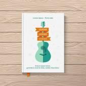 Cover book — Stock Vector