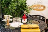 Mesa en el café — Foto de Stock
