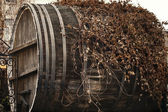 A huge wine barrel — Stock Photo