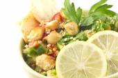 Chicken Tabbouleh Salad — Stock Photo