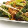 Sauteed Mixed Chinese Vegetables with Tofu — Stock Photo #53653963
