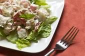 Mayonnaise Seafood Salad — Stock Photo
