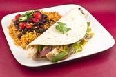 Mexican Chicken Fajita  — Stock Photo
