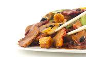 Chinese Black Bean Pork Takeout — Foto Stock