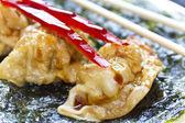 Fried Chinese Dumplings — Stock Photo