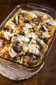 Lasagna Casserole — Stock Photo