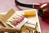 Tobacco Relaxation — Stock Photo