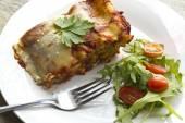 Cheese Lasagna — Stock Photo