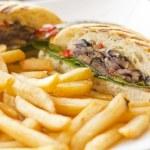 Portobello Mushroom Sandwich — Stock Photo #65637371