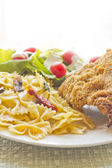Blue Cheese Fried Chicken — Stock Photo