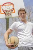 Young Man Basketball — Stock Photo