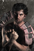 Angry Uncle Sam — Stock Photo