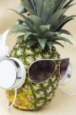 Cool Pineapple — Stock Photo
