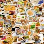World Cuisine Collage — Stock Photo #79860584
