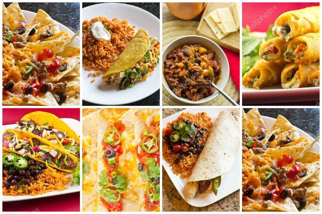 Mexican Culture Collage Food