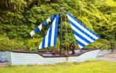 Ship under sail — Stock Photo