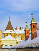 Roofs of Varvarka — Stock Photo