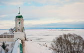 Winter in Rostov Veliky — Stock Photo