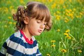 Resentful child — Stock Photo
