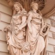 Ancient statue in St. Petersburg — Stock Photo #74030259