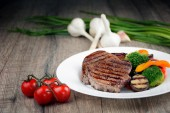Delicious grilled beef steakes  — Stockfoto