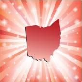 Red Ohio.  — Stock Vector