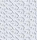 Geometrische 3d-naadloze patroon achtergrond. — Stockvector