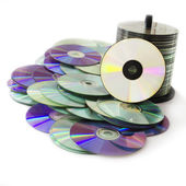CD and DVD — Stock Photo