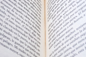 Open book as background — Foto Stock