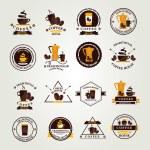 Coffee label, icon menu. — Stock Vector #51994767