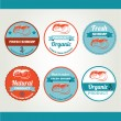 Set of seafood icons — Stock Vector #51995115