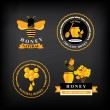 Set Honey badges and labels — Stock Vector #51995169