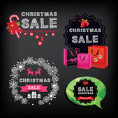 Christmas Sale. — Stock Vector