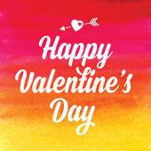 Sevgililer günü afişi. — Stok Vektör