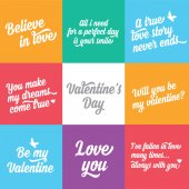 Valentine's Day poster — Stock Vector