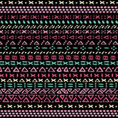 Tribal pattern design background. — Stock Vector