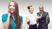 젊은 성공 기업 들의 팀 — Stockfoto