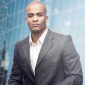 Empresario joven africano — Foto de Stock