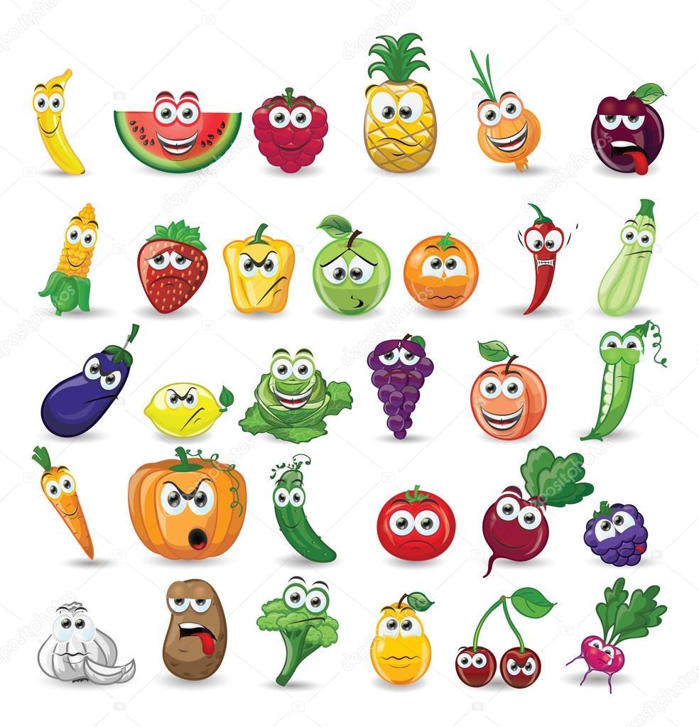 Personnages de d...V Is For Vegetables