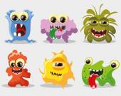 Cartoon monsters — Stock Vector