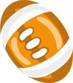 Cartoon school ball — Stock Vector