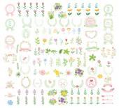 Set of wedding graphic — Cтоковый вектор