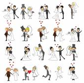 婚礼图片集 — 图库矢量图片