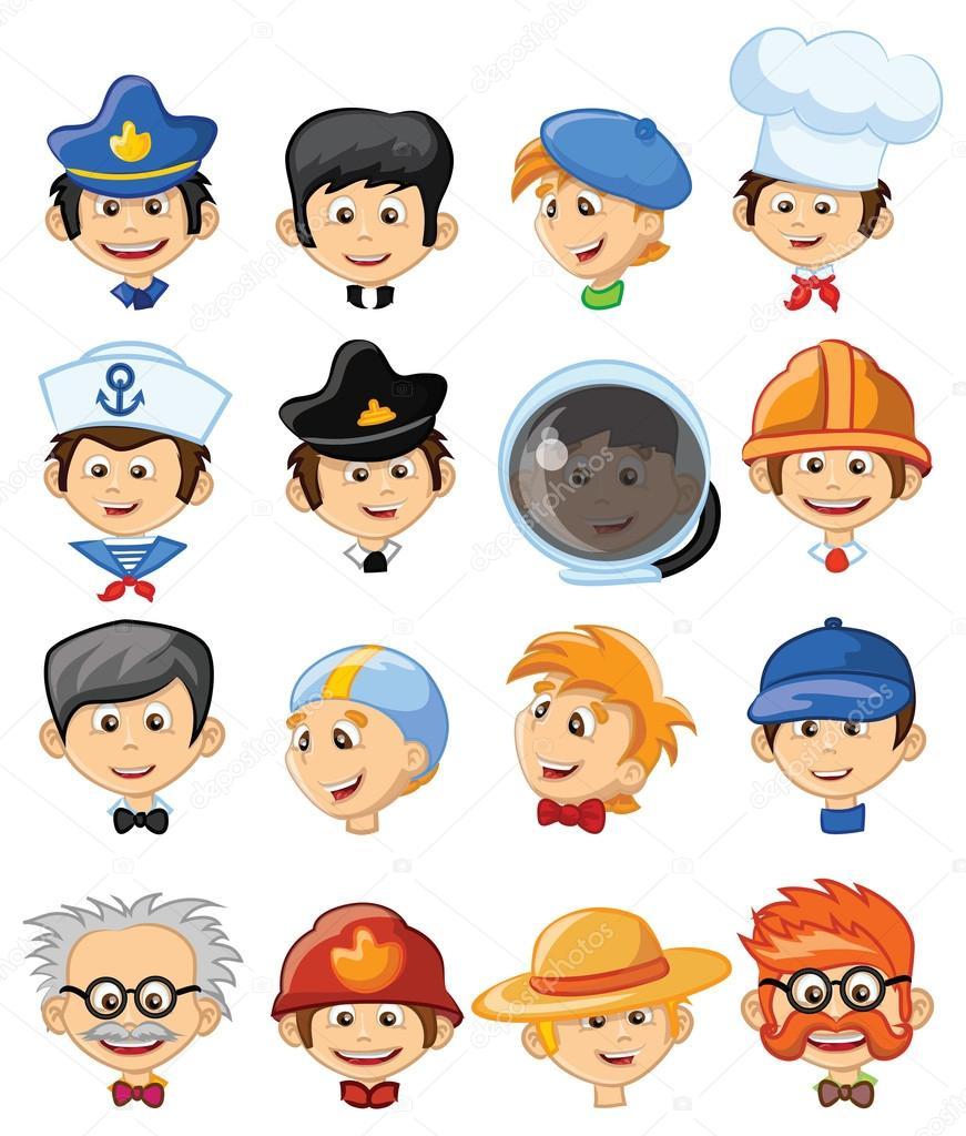 Personajes De Dibujos Animados Profesiones