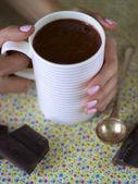 Raw chocolate cacao — Stock Photo